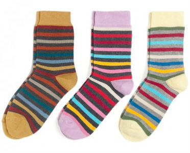 Change the world by changing your socks. Really.