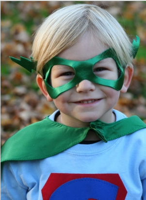 Super hero costumes for kids who are their own super heroes