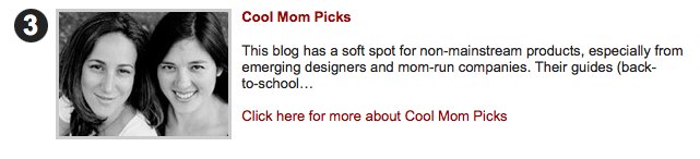 Babble's 50 best design blogs for moms. Yay!