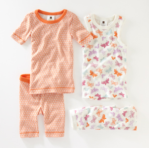 Kids pajamas from Tea Collection lead to very sweet dreams