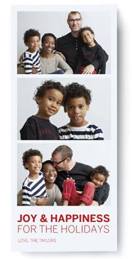 Christmas cards go photobooth fabulous