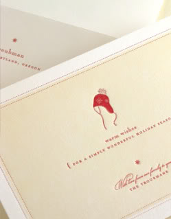 elum designs holiday cards take me far from the maddening crowds