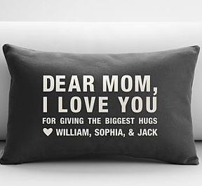 A personalized gift for Mother's Day from the whole family.  Even the ones with the funny names.
