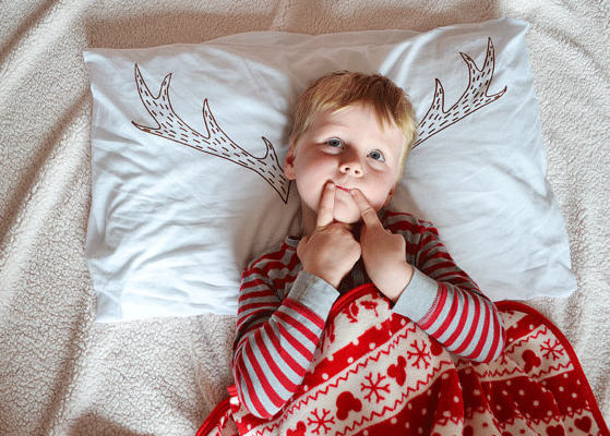 Reindeer antler pillowcase | Cool Mom PIcks