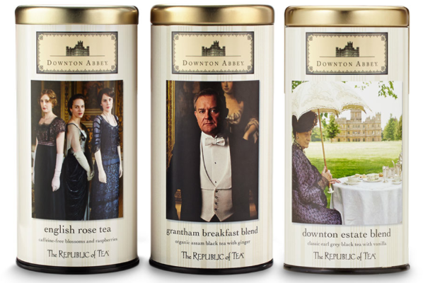 Downton Abbey teas | Cool Mom Picks
