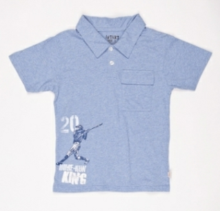 Polos meet t-shirts in these clever shirts for boys