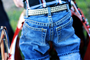 Belts for babies and kids just got about as cool as it gets