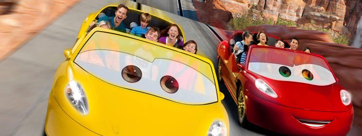 Cars Land at Disney's California Adventure – yes, it's all that