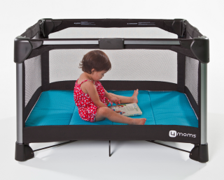 The new 4moms Breeze play yard is worth marking your calendar for now!