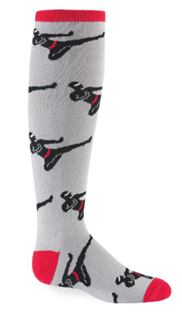 Ninja socks, people. NINJA SOCKS.
