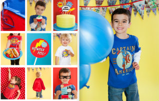 How do you put together a great kids' birthday party without a design degree and 600 hours of free time?