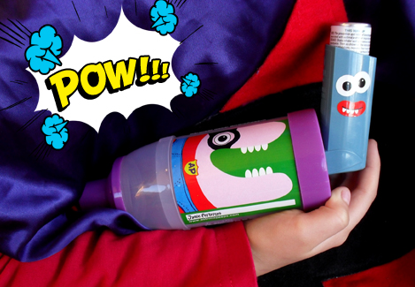 A creative approach to help kids coping with childhood asthma
