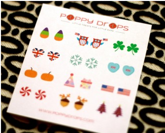 Need a pretty alternative to pierced ears? Try temporary tattoos