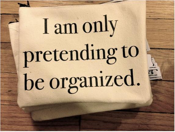 Organization help? Well..