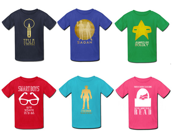 Rock star science shirts for rock star kids
