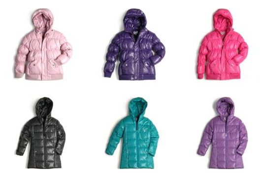 Bundling the kids up in winter jackets you'll want for yourself