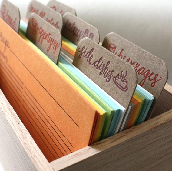 A letterpress recipe for success