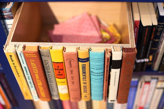 Give old books new life while giving yourself more storage