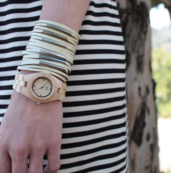 Watch out! These wooden timepieces are stylish and sustainable