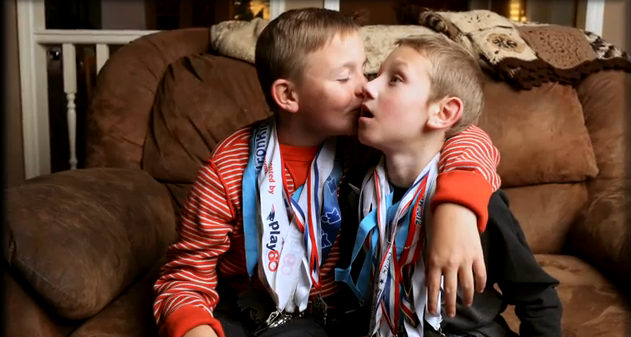 Web Coolness: Brotherly love, Valentine pins, and how movies teach manhood