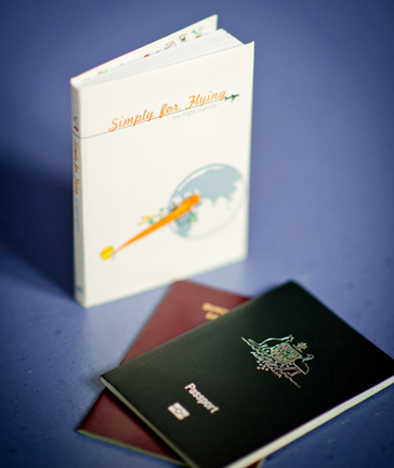 A lovely journal for your little traveler…other than a ticket to Paris