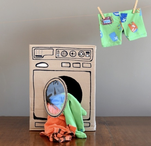 Web Coolness: DIY cardboard toys, the best family memory books, and remembering to play