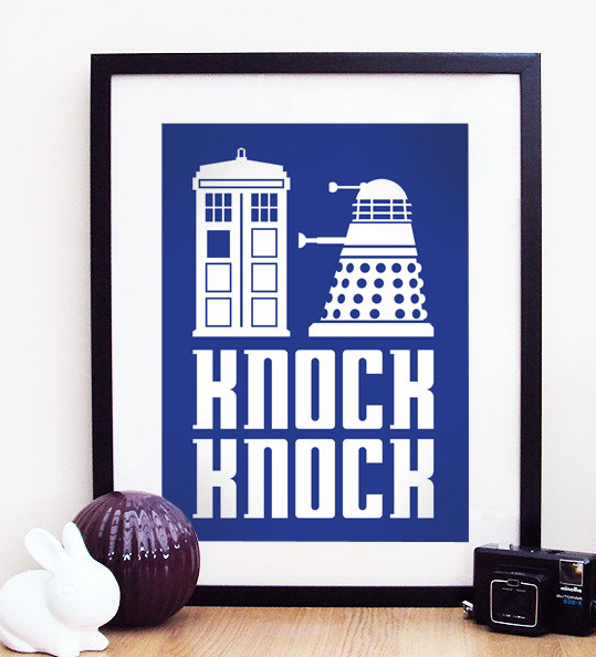 Awesome Doctor Who posters, for awesome Doctor Whovian homes