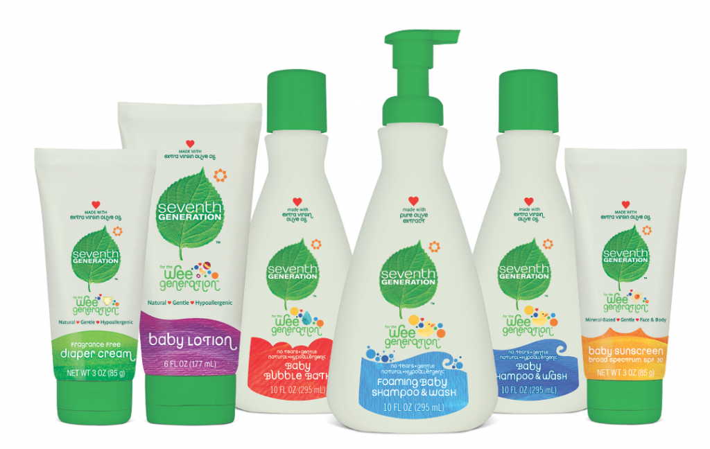 Seventh Generation's new baby products are eco-awesome