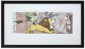 Maurice Sendak prints. A.K.A. Where the wild things art. (Ha.)