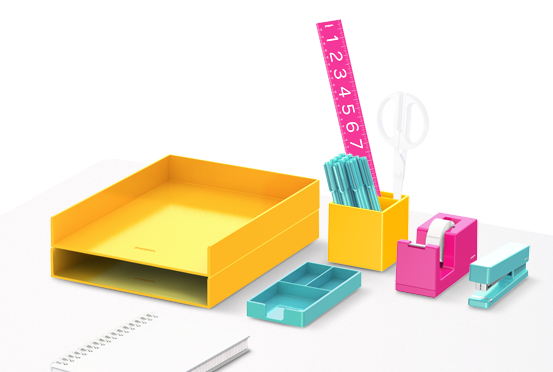 Poppin: Desk organization that actually gets you psyched to organize