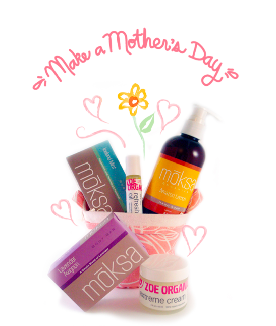 Pamper your favorite mama, organically