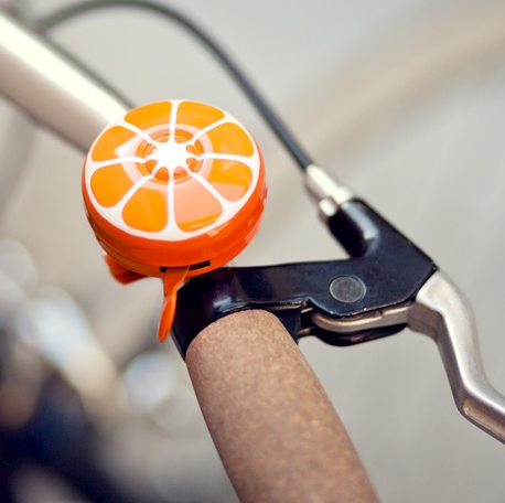 Orange you glad you found these adorable bike bells?