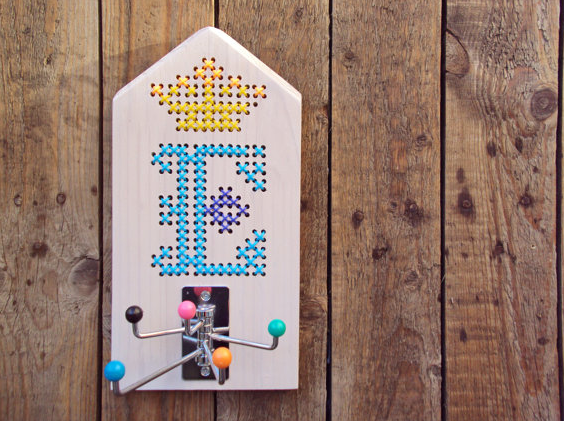 The coolest embroidery kits just for kids, hold the needle!