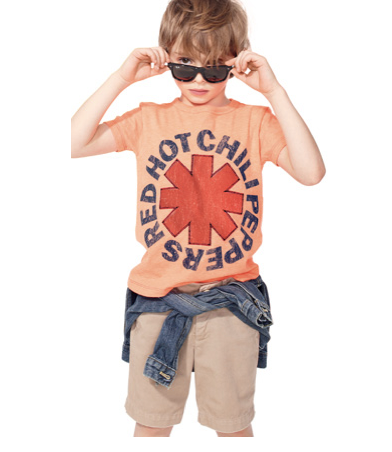 Rock n roll tees for kids so authentic, you can almost smell the overpriced concert beer on them.