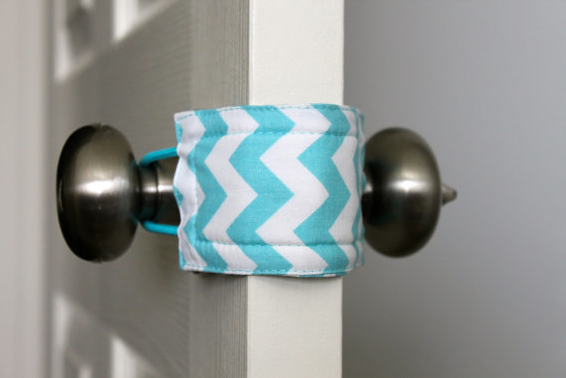Best baby gear: Latchy Catchy door latch cover | Cool Mom Picks