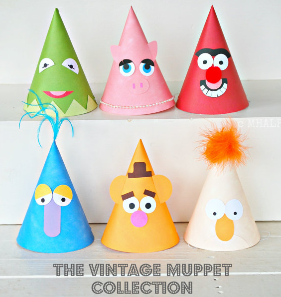 A Muppets birthday party with vintage cool