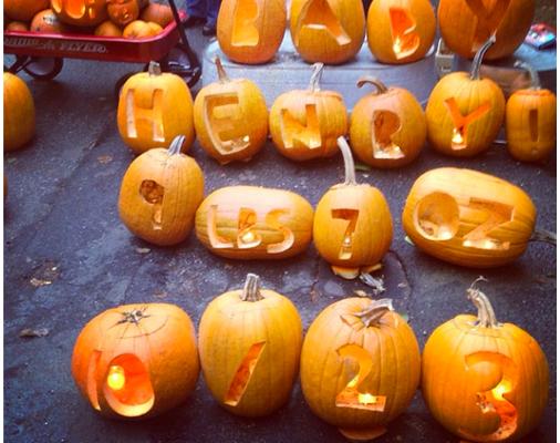 Pumpkin Baby Announcement | Cool Mom Picks