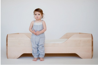 A toddler bed fit for a king. Or a very lucky toddler.