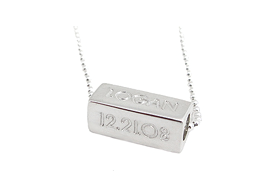 One sterling silver bead says it all