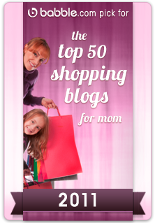 Cool Mom Picks voted #1 shopping site on Babble.com. Whoo!