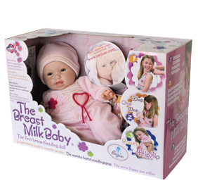 The Breast Milk Baby Doll – Because not all babies take bottles
