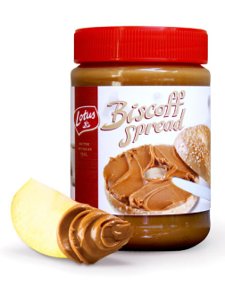 Biscoff Spread – Yes, those airplane cookies, now in a jar. (Whoo!)