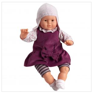The perfect baby doll for your own growing baby.