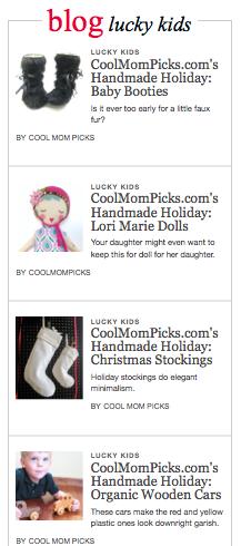 Cool Mom Picks + Lucky Magazine