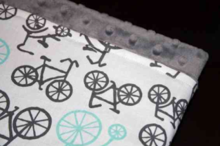 A bicycle built for a little one.