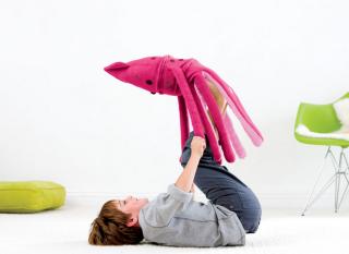 The cuddliest interspecies squid doll yet