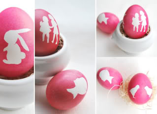 Gorgeous Easter egg decorating ideas. A.K.A. face on your egg
