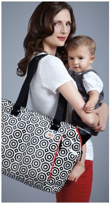 Best baby gear: Jonathan Adler Skip*Hop diaper bag | Cool Mom Picks