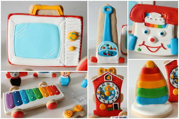 Vintage Fisher-Price toys that you can actually put in your mouth