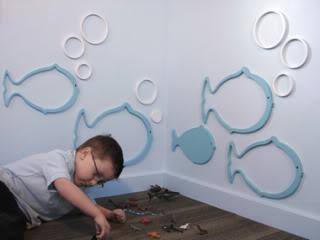 Fishy fishy on the wall